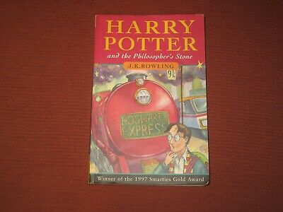 Harry Potter and the Philosopher's Stone J K Rowling 1997 Paperback 1st edition