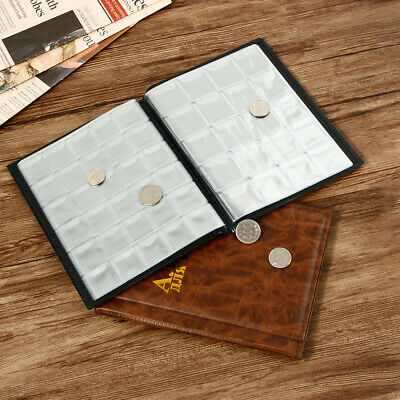 250 Coins Collecting Storage Album Book Holder Pockets Penny Money Collection