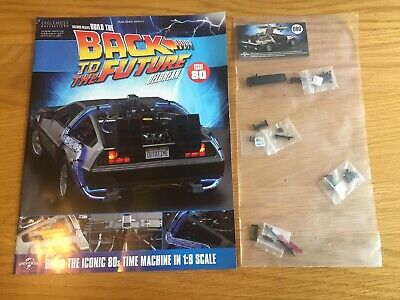 Eaglemoss Build the back to the future Delorean issue 80 new and unopened