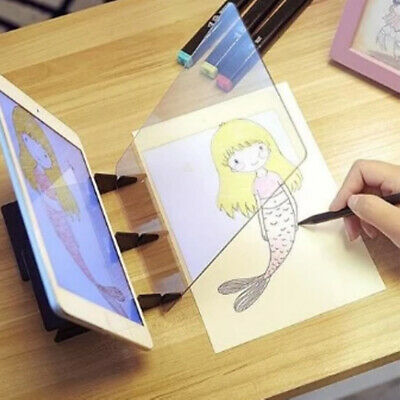 Optical Image Drawing Board Simple Sketch Easy Tracking Mirror Painting Plate