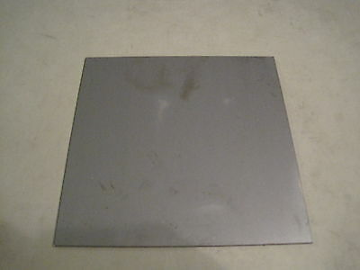 """1/4"""" Steel Plate, Rectangle, 7"""" x 7"""", A36 Mild Steel, .25 thick"""