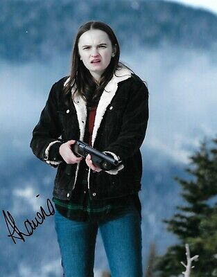 Abigail Lawrie Signed Tin Star 10x8 Photo AFTAL