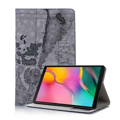 Tasche Samsung Galaxy Tab A 10.1 T510/T515 Tablet Cover Hülle Case Leder Optik g