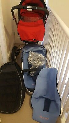 quinny travel system with extras