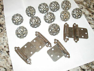 11 Burnished Bronze Knobs and 5 Hinges
