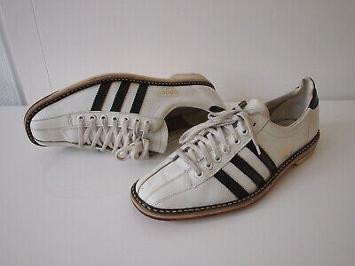 ADIDAS BOWLING VINTAGE Sneaker Schuhe Leder weiß Made in