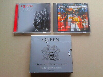 Queen (5)CD Collection, Greatest Hits 1,2,3. Queen Live Magic, Absolute Greatest