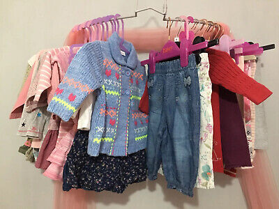 Lovely Baby Girls Next Autumn Winter Bundle 31 Items 3-6m 🎀 Leggings Cardy Tops