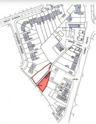 Ripley Derbyshire Building Plot With Small Holding Potential