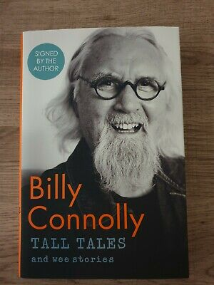 Billy Connolly Signed Book - Tall Tales & Wee Stories Hardback Book