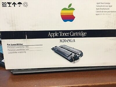 New Old Stock Genuine Apple Toner Cartridge M2045G/A Sealed Box for LaserWriter