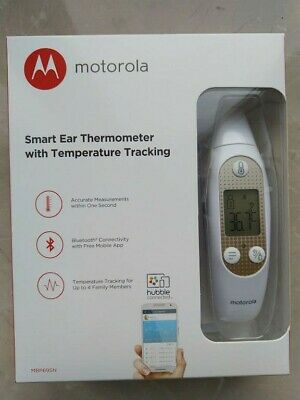 Motorola MBP69SN Smart Ear Thermometer with Temperature Tracking