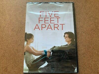 Five Feet Apart Cole Sprouse Dvd New & Sealed