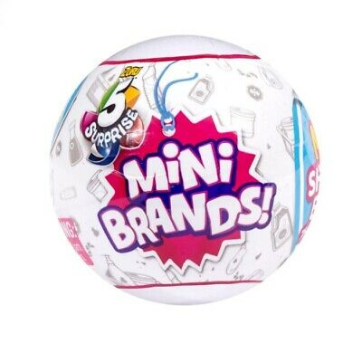 5 Surprise Mini Brands Ball By Zuru.Shipping is Free & Fast! From USA -- 1 ball