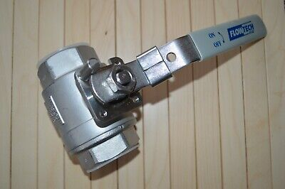 5 x 1.5 INCH BALL VALVE - 316 STAINLESS STEEL - UNUSED !!!!!