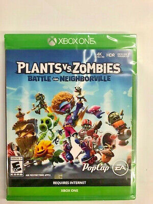 Plants Vs. Zombies: Battle for Neighborville  Xbox One NEW!