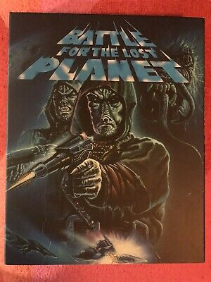 Battle For The Lost Planet + Mutant War Vinegar Syndrome Blu Ray + OOP Slipcase