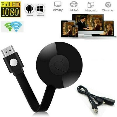 For Chromecast 2nd Gen Google Digital HDMI 1080P WiFi Media Video Streamer W9M4Q