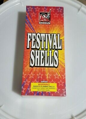 Festival Shell Box Label Firework Labels Paper Artwork with Bonus 200 gram label