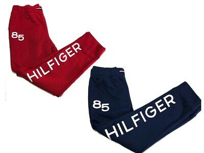 NWT Girls Tommy Hilfiger Sweatpants - Red or Navy