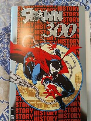 Spawn #300 Silver Foil Nycc Variant Image Comics New York Comic Con Ltd To 1500