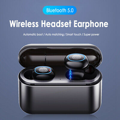 Wireless Headset TWS Bluetooth 5.0 Earphone Mini In-Ear Earbuds Stereo Headphone