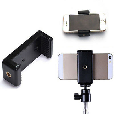 Ajustable Cell Phone Clip Tripod Mount Adapter for Smartphone iPhone Samsung B9
