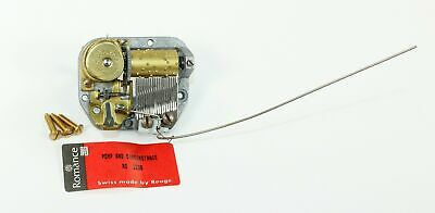 MUSIC BOX MOVEMENT ROMANCE / REUGE! SWISS - song POMP and CIRCUMSTANCE - ZZ503