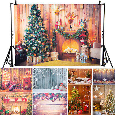 AU Christmas Party Baby Children Photography Backgrounds Photographic Backdrops