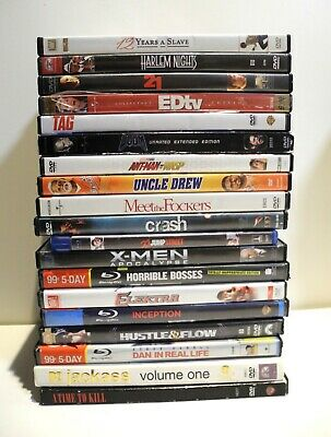 Lot of 19 DVD Movies Various Titles Previously Viewed and Refurbished