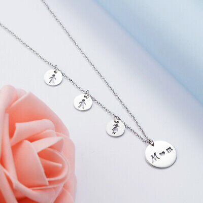 Mother Necklace Daughter Son Birthday Gift For MOM Christmas Present Family