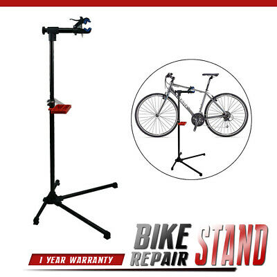 """Bike Adjustable 42"""" To 74"""" Repair Stand W/Telescopic Arm Bicycle Cycle Rack"""