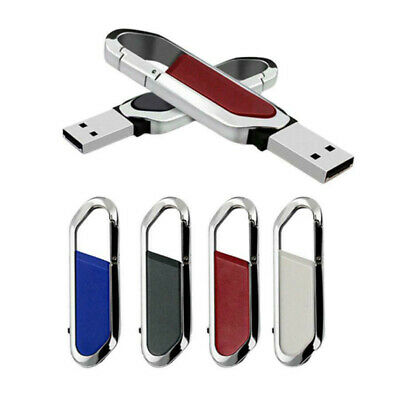 UK 2TB USB 3.0 Flash Drive Memory Stick Metal Key Chain Pen U Disk Thumb PC
