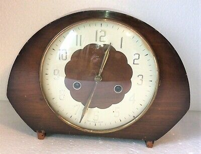 Smiths British Made Vintage Chiming Mantle Clock for Overhaul