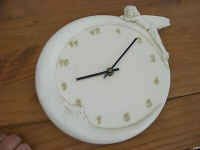 """Past Times """"Fairy And Moon"""" Wall Clock , Needs Battery"""