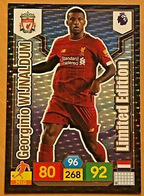 Panini Adrenalyn XL Premier League 2019/20 Limited Edition GEORGINIO WIJNALDUM