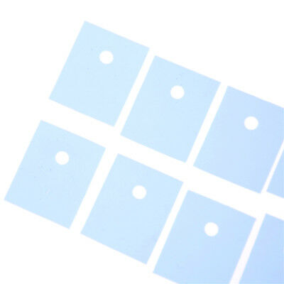 50 Pcs TO-3P Transistor Silicone Insulator Insulation Sheet Popu xf