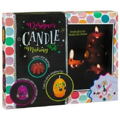 Kids Designer Candle Making Kit Art and Craft Creative Activities 6+