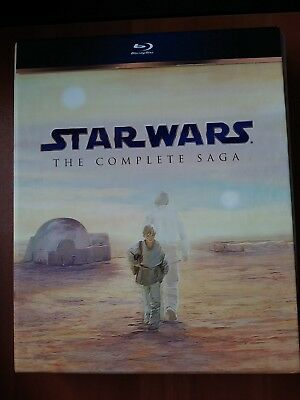Star Wars: The Complete Saga-  (see Detail) - BR , 9-Disc Set, Boxed Set)