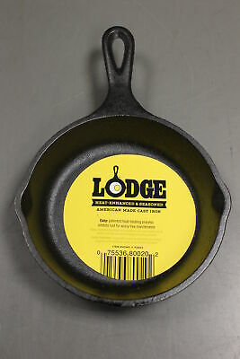 Lodge H5MS Pre-Seasoned Mini 5 Inch Cast Iron Skillet, New