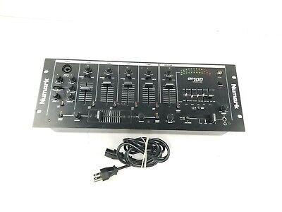"""Numark CM100 Professional DJ 19"""" Mixer Tested and Working"""