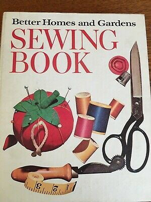 Vintage 5 Ring Binder, Better Homes and Gardens Sewing Book 1961-1970 Hardcover