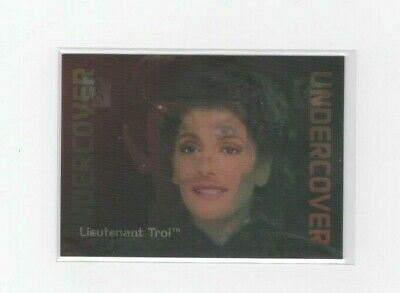 30 Years of Star Trek Phase 2 Trading Cards Undercover Chase Card L5 Chakotay