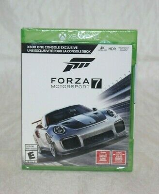 Forza Motorsport 7 Microsoft Xbox One, 2017 Brand New Factory Sealed