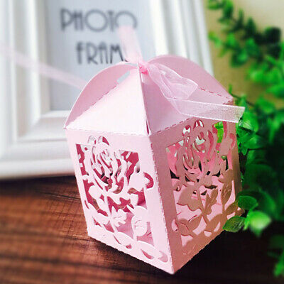 Rose Flower Box Carbon Steel Metal Cutting Dies DIY Scrapbook Embossing Stencil