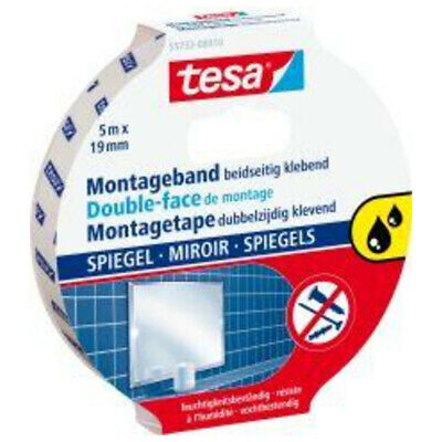 10x tesa Montageband transparent 5m:19 mm