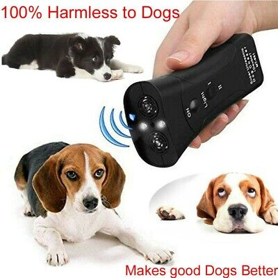 Anti Dog Barking Pet Trainer Petgentle Ultrasonic LED Light Gentle Chaser Style