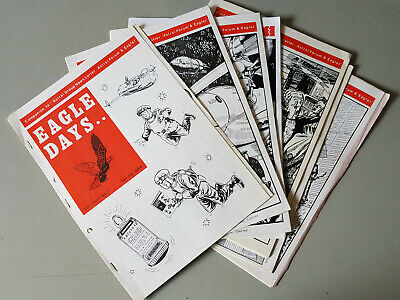 EAGLE DAYS MAGAZINE - 7x issues from No. 1 - Eagle Comic/Dan Dare