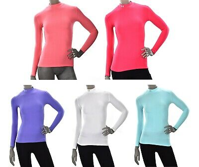 Under Armour BaseLayer ColdGear L/Slv Fitted Mock -1001512 - Womens Compression