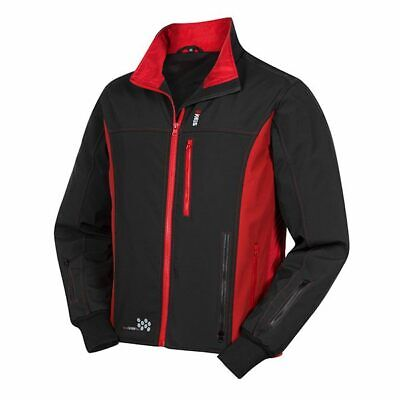 Keis J501 Heated Motorcycle Jacket Black Red